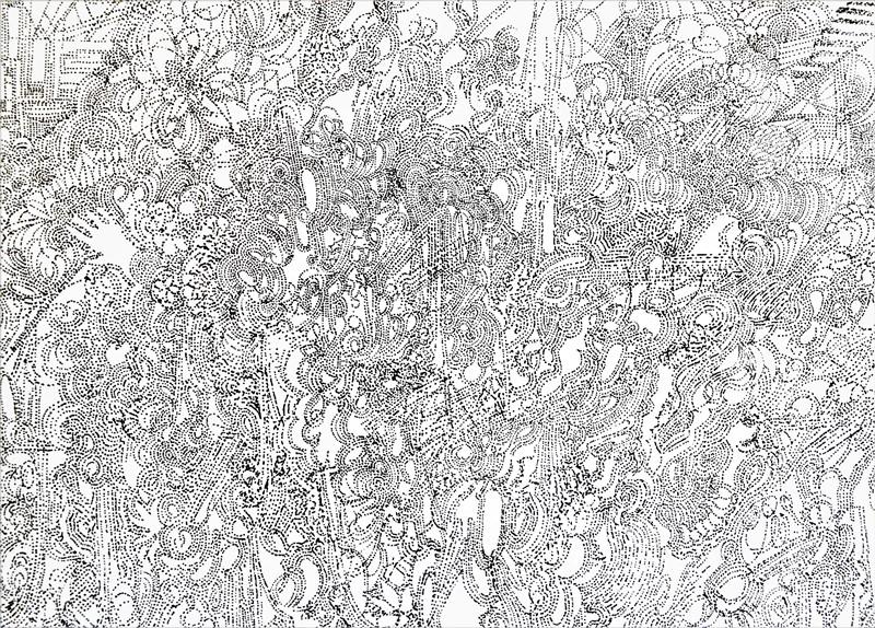 Rêve en noir et blanc 1, 2016